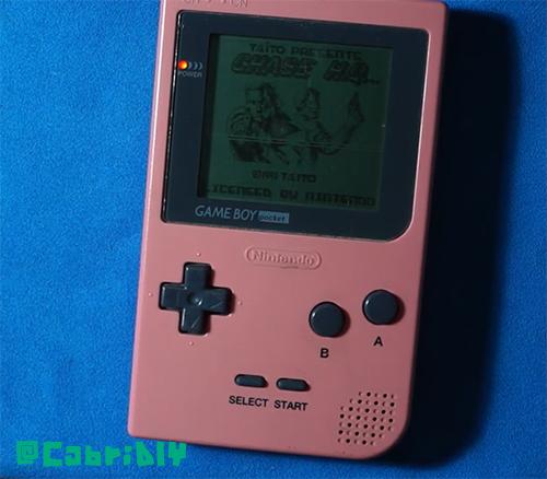 Pixels HS GameBoy Pocket