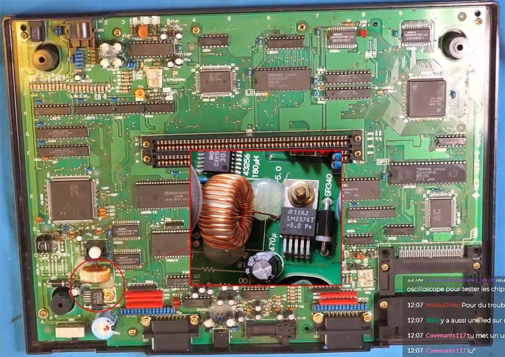 Bobine Neo-Geo AES